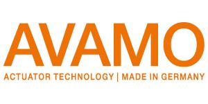 Logo Avamo actuator technology made in Germany