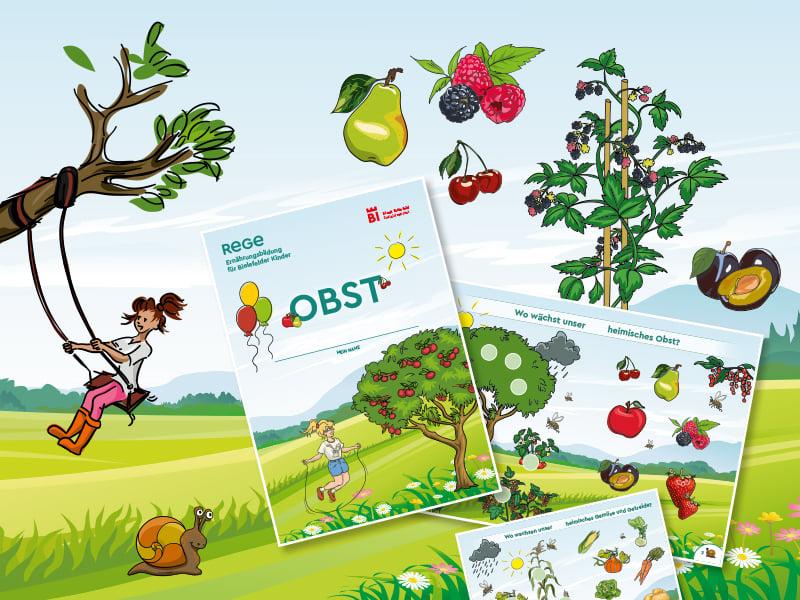 Wo wächst unser heimisches Obst und Gemüse?
